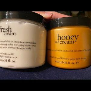 Body cream by philosophy